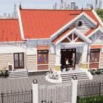 Mẫu Nhà Cấp 4 Đẹp 150m2 Ở Tam Nông Phú Thọ