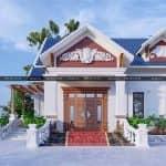 Mẫu Nhà Cấp 4 Đẹp Tỏa Nắng Tại Bảo Yên Lào Cai