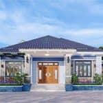 Mẫu Nhà Cấp 4 Đẹp Tỏa Nắng Tại Thanh Hà Hải Dương