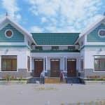 Mẫu Nhà Cấp 4 Đẹp Tuyệt Đối Tại Hà Nội