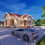 Mẫu Nhà Cấp 4 Đẹp 160m2 Tại Yên Dũng Bắc Giang