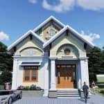 Mẫu Nhà Cấp 4 Hiện Đại Đẹp Tại Kim Sơn Ninh Bình