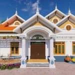 Mẫu Nhà Cấp 4 Mái Thái Đẹp Tại Văn Lâm Hưng Yên