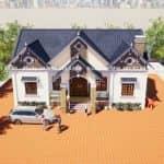 Mẫu Nhà Cấp 4 Mái Thái Đẹp Tại Nam Đàn Nghệ An