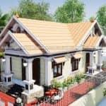 Mẫu Nhà Cấp 4 Mái Thái Đẹp Tại Quảng Ninh Quảng Bình