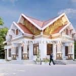Mẫu Nhà Cấp 4 Mái Thái Đẹp Tại Vĩnh Bảo Hải Phòng
