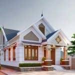 Mẫu Nhà Cấp 4 Mái Thái Đẹp Tại Kim Sơn Ninh Bình