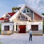 Mẫu Nhà Cấp 4 Mái Thái Đẹp Tại Sầm Sơn Thanh Hóa