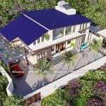Ngất Ngây Với Mẫu Nhà Cấp 4 Mái Thái Lệch Đẹp Tại Đông Anh Hà Nội