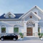 Mẫu Nhà Cấp 4 Mái Thái Siêu Đẹp Tại Kim Sơn Ninh Bình