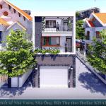 Mẫu Nhà Ống Hiện Đại 2 Tầng Đẹp Nhất Cẩm Xuyên, Hà Tĩnh