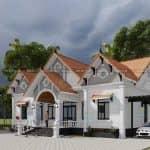 Mê Tít Mắt Với Mẫu Nhà Cấp 4 Đẹp Tại Bắc Quang Hà Giang
