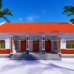 Mẫu Nhà Cấp 4 Mái Ngói Tại Ninh Phúc Ninh Bình