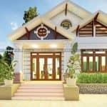 Ngắm Nhìn Mẫu Nhà Cấp 4 Đẹp Hiện Đại Tại Yên Sơn Tuyên Quang