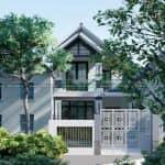 Ngất Ngây Với Mẫu Biệt Thự 2 Tầng Mái Thái Đẹp Tại Bình Thuận