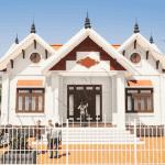 Nhà Cấp 4 Đẹp Mái Thái 120m2 Tại Tuyên Quang