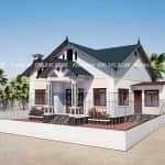 Ngắm Nhìn Mẫu Nhà Cấp 4 Đẹp Xuất Sắc Tại Bắc Giang