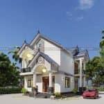 Nhìn Là Mê Với Mẫu Biệt Thự Hiện Đại Đẹp Tại Sơn Dương Tuyên Quang