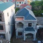 Thực Tế Mẫu Biệt Thự 2 Tầng Hiện Đại Đẹp Tại Mê Linh Hà Nội