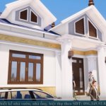 Thực Tế Mẫu Nhà Cấp 4 Đẹp 120 m2 Tại Bắc Ninh