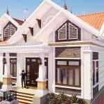 Thực Tế Mẫu Nhà Cấp 4 Đẹp 120 m2 Tại Đông Hưng Thái Bình