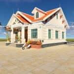 Mẫu Nhà Vườn Đẹp 140 m2 Tại Yên Lập Phú Thọ