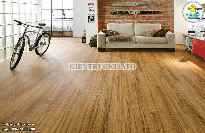 Dịch vụ thi công sàn gỗ công nghiệp ngày càng phát triển