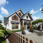 Vẻ Đẹp Tiềm Ẩn Của Mẫu Nhà Cấp 4 Đẹp Tại Kỳ Sơn Hòa Bình