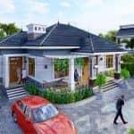 WOW ! Mẫu Nhà Cấp 4 Đẹp Tại Ứng Hòa Hà Nội