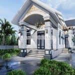 Mẫu nhà cấp 4 mái Thái hiện đại tại Bà Rịa - Vũng Tàu