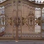 Ấn Tượng Với Mẫu Cổng Nhôm Đúc Cùng Hàng Rào Đẹp Tại Thái Bình