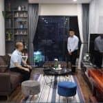 Ấn Tượng Với Mẫu Nội Thất Phòng Bếp Ăn Phòng Khách Cho Căn Hộ 100m2 Tại Hà Nội