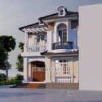 Hút Hồn Với Mẫu Biệt Thự Tân Cổ Điển Đẹp Năm 2020 Tại Yên Định Thanh Hóa