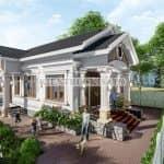 Mẫu Nhà Cấp 4 Nông Thôn Đẹp Tại Bắc Ninh