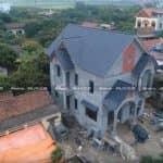Mẫu Biệt Thự 2 Tầng Đẹp Xao Xuyến Do KISATO Thiết Kế Tại Hưng Yên