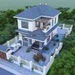 Mẫu Biệt Thự 2 Tầng Hiện Đại Đẹp Đẳng Cấp Tại Thuận Thành Bắc Ninh