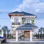 Mẫu Biệt Thự 2 Tầng Hiện Đại Đẹp Năm 2020 Tại Kim Bảng Hà Nam