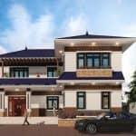 Mẫu Biệt Thự 2 Tầng Hiện Đại Đẹp Nhất Nghĩa Hưng Nam Định