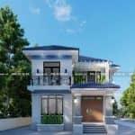 Mẫu Biệt Thự 2 Tầng Hiện Đại Đẹp Tại Nghĩa Hưng Nam Định