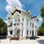 Mẫu Biệt Thự Mái Thái Tân Cổ Điển Lý Tưởng Ở Nông Thôn