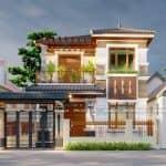 Mẫu Biệt Thự 2 Tầng Siêu Đẹp Tại Văn Lãng Lạng Sơn