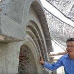 Mẫu Bình Phong Trang Trí Cho Biệt Thự Cổ Điển- Lâu Đài