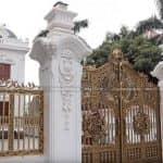 Mẫu Cổng Hàng Rào Nhôm Đúc Đẹp Như Mơ Năm 2020 Tại Hải Hà Quảng Ninh