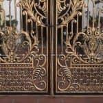 Mẫu Cổng Nhôm Đúc Đẹp Ấn Tượng Cho Công Trình Biệt Thự- Lâu Đài
