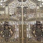 Mẫu Cổng Nhôm Đúc Đẹp Đẳng Cấp Dành Cho Mẫu Biệt Thự Hiện Đại