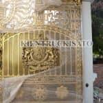 Mẫu Cổng Nhôm Đúc Đẹp Năm 2020 Dành Cho Mẫu Biệt Thự Tại Hạ Long Quảng Ninh