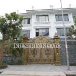 Mẫu Cổng Nhôm Đúc Đẹp Vạn Người Mê Do KISATO Thi Công Tại Hoài Đức Hà Nội