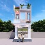 Mẫu Nhà Ống 2 Tầng Siêu Đẹp Tại Bình Chánh TP Hồ Chí Minh