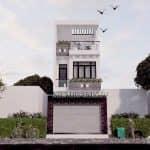 Mẫu Nhà Ống 3 Tầng Đẹp Năm 2020 Tại Hải Hậu Nam Định