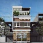Mẫu Nhà Ống 3 Tầng Hiện Đại Đẹp Tại Đồng Xoài Bình Phước